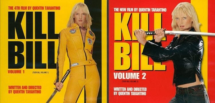 kill bill vols 1 and 2 poster