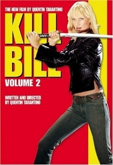 kill bill vol 2 small poster