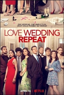 love wedding repeat small poster