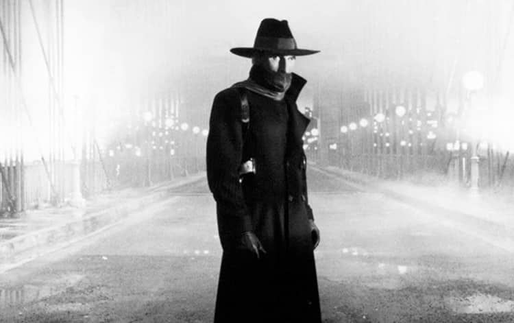 Alec Baldwin as The Shadow, our top prototype superhero