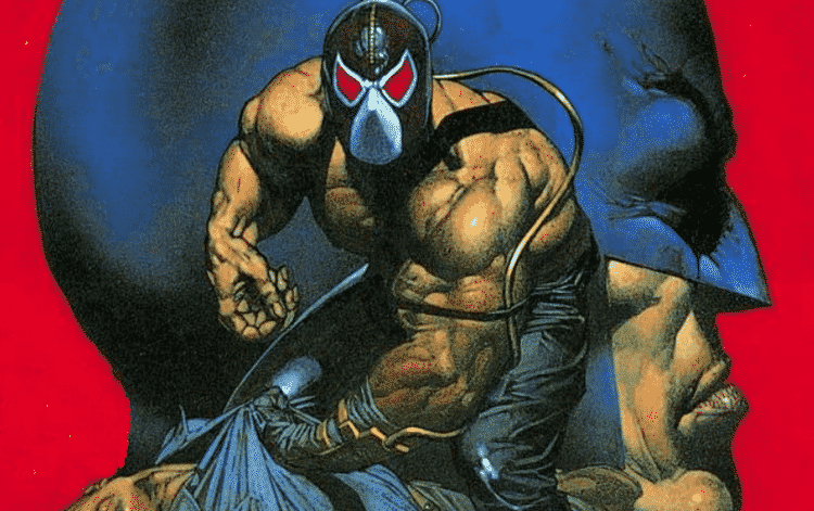 Bane shown on cover of Batman: Vengeance of Bane