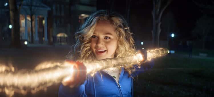 Stargirl (Brec Bassinger) on the CW show