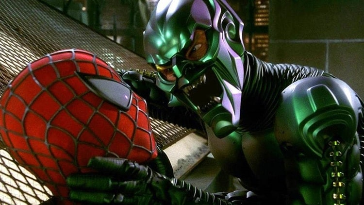 Green Goblin (Willem Dafoe) in Spider-Man (2002)