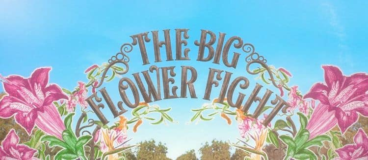 big flower fight poster