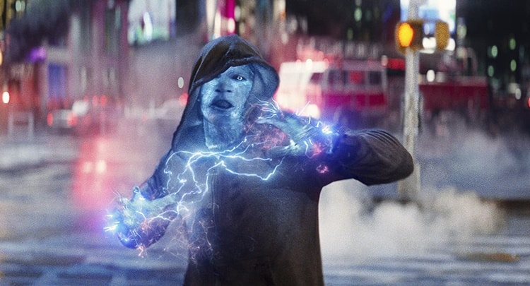Electro (Jamie Foxx) in The Amazing Spider-Man 2
