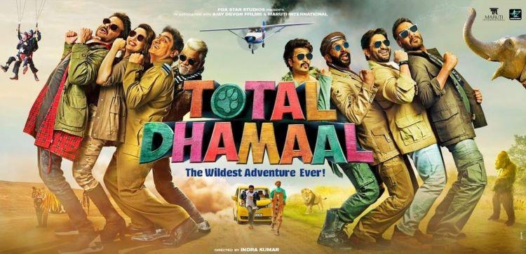 total dhaamal poster