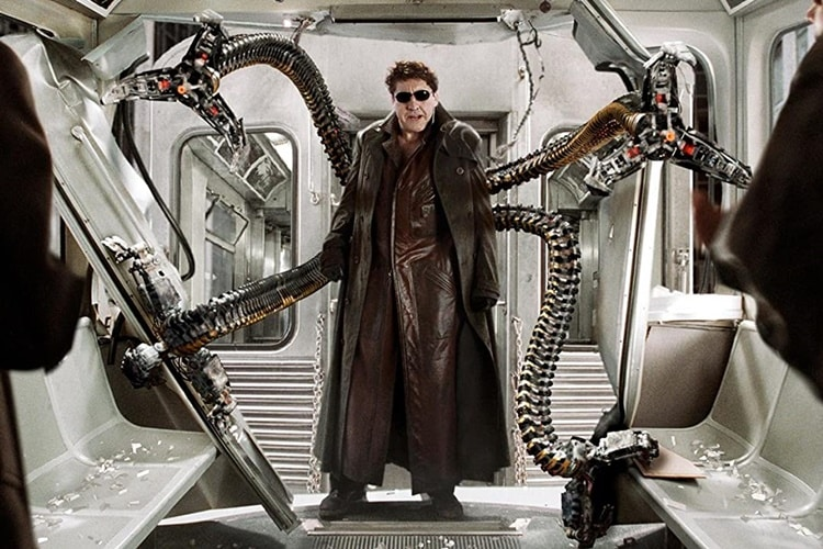Doctor Octopus (Alfred Molina) in Spider-Man 2