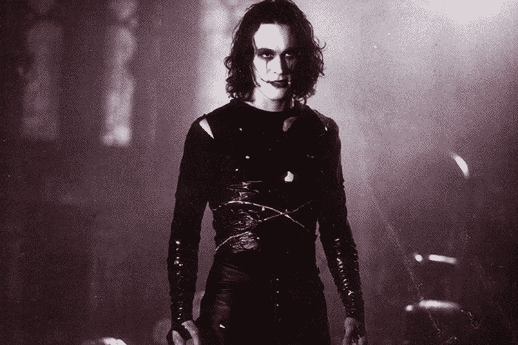 Brandon Lee in The Crow made our Top 5 Undead Superhero list.