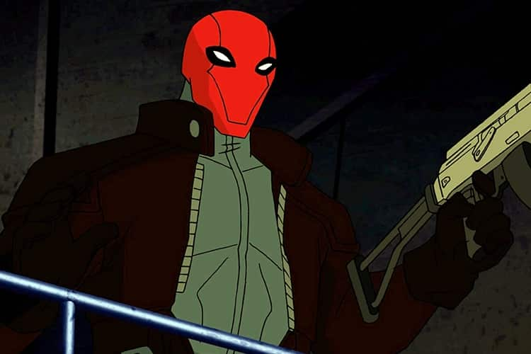 Reed Hood in Batman: Under the Red Hood