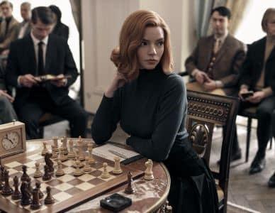 Queen's Gambit courtesy of Netflix