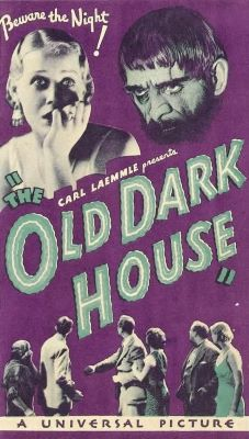 old dark house small poster