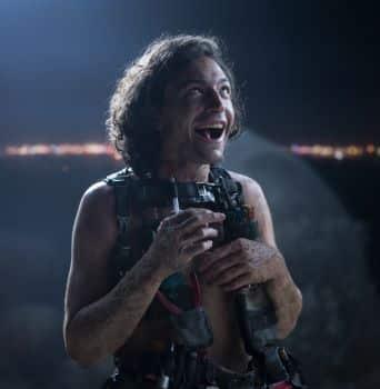 Ezra Miller as Trashcan Man