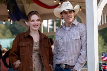 Odessa Young and James Marsden in The Stand 2021