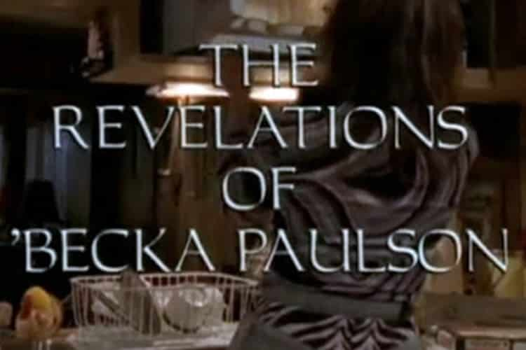 The Revelations of Becka Paulson title card