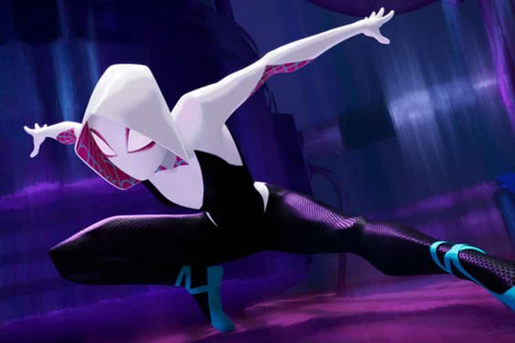 Spider-Gwen (aka Gwen Stacy) in Into The Spider-Verse