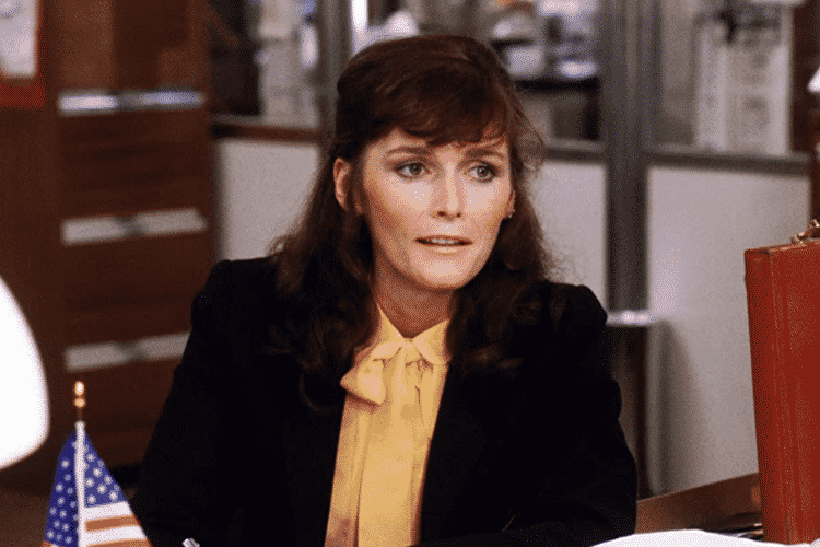 Margot KIdder as Lois Lane in Superman III (1983)