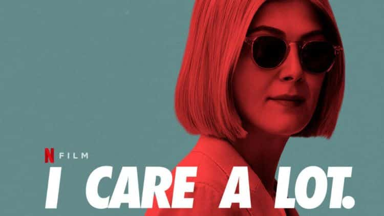 i care a lot poster