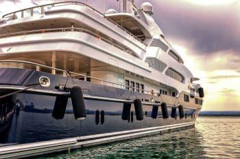 Mrs. Norman Maine's yacht