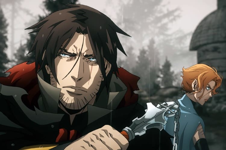 Trevor & Sypha are standout characters in Castlevania Season 4