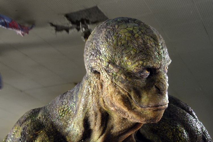 The Lizard in 2012's The Amazing Spider-Man